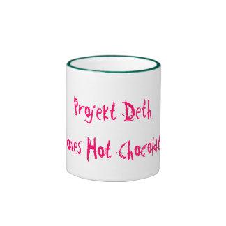 Projekt Deth, Loves Hot Chocolate Ringer Coffee Mug