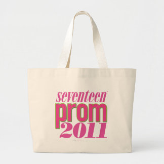 Prom 2011 - Lt. Pink Large Tote Bag