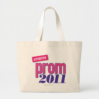 Prom 2011 - Pink Large Tote Bag