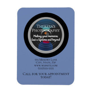 Promotional Photography Studio Address Phone Magnet