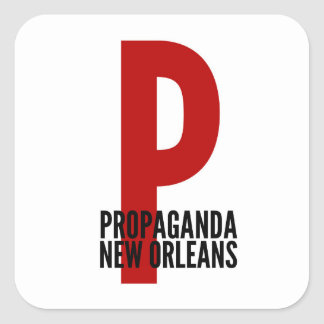 PROPAGANDA New Orleans Logo Sticker