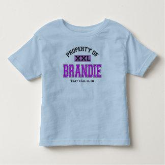 PROPERTY  OF BRANDIE TODDLER T-Shirt