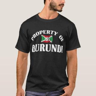 Property Of Burundi T-Shirt