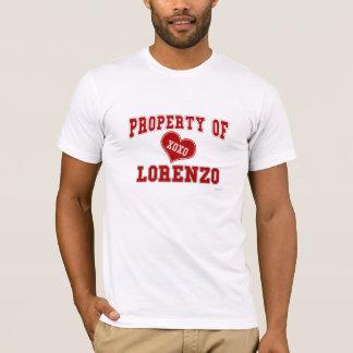Property of Lorenzo T-Shirt
