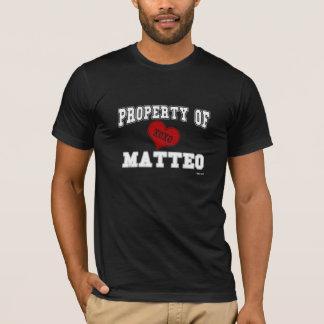 Property of Matteo T-Shirt