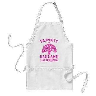 Property of Oakland Standard Apron
