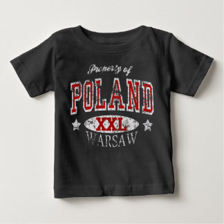 Property of Poland Warsaw Baby T-Shirt