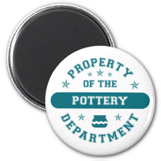 Property of the Pottery Department Fridge Magnets