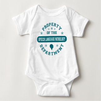 Property of the Speech Language Pathology Departme Baby Bodysuit