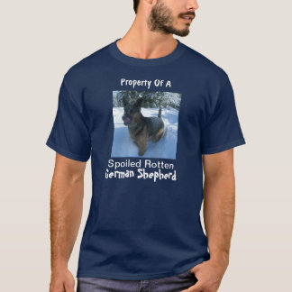 Property Spoiled Rotten German Shepherd (Men's T) T-Shirt