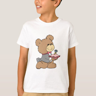 proposal or ring bearer teddy bear design T-Shirt