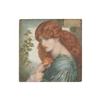 Proserpine by Dante Gabriel Rossetti Stone Magnet