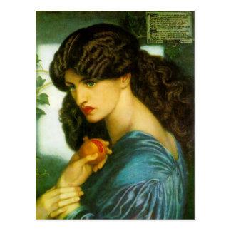 Proserpine - Dante Gabriel Rossetti Postcard