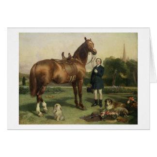 Prosperity (oil on canvas) card