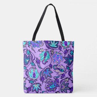 Protea Batik Hawaiian Tropical Floral Beach Bag