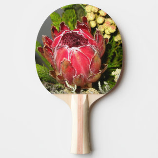 Protea Bouquet Ping Pong Paddle