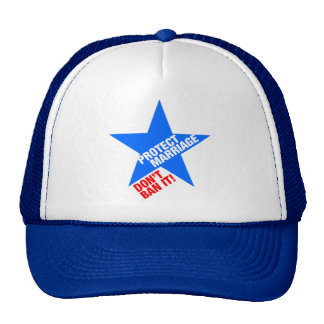 Protect Marriage Mesh Hats