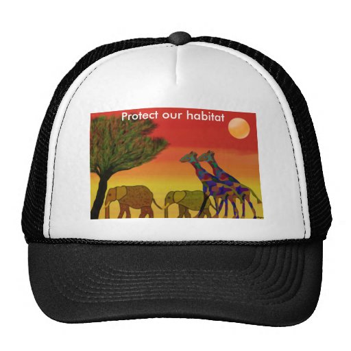 Protect our habitat hat