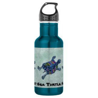 Protect Sea Turtle Habitats 532 Ml Water Bottle