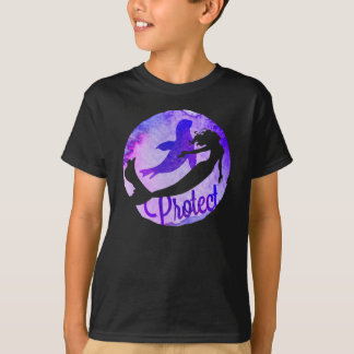 """""""Protect"""" with Mermaid and Harbor Seal T-Shirt"""