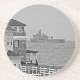 """Protecting our shores"" collection Coaster"