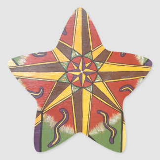 Protection Star Mandala Star Sticker