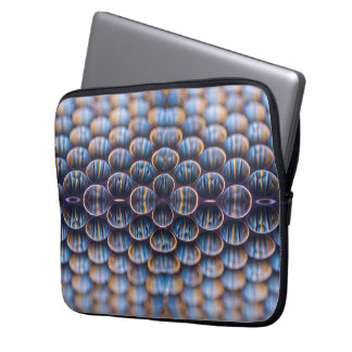 Protective Sleeve with Abstract Honeycomb Image