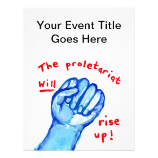 Protest flyers political event social justice fist
