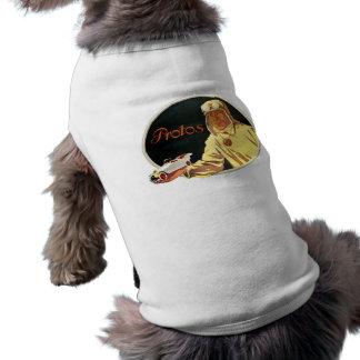 Protos - Vintage German Auto Advertisement Doggie Tee
