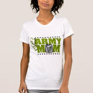 Proud Army Mom Green Camo Shirt