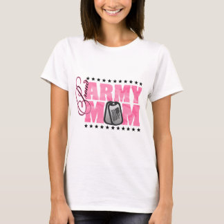 Proud Army Mom Pink Camo T-Shirt