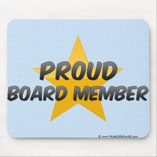 Proud Board Member Mouse Pad