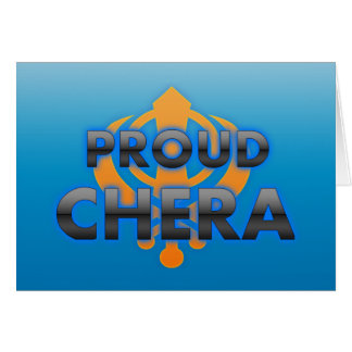 Proud Chera, Chera pride Cards