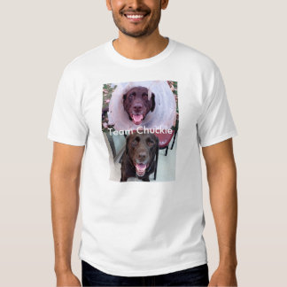 Proud Chocolate Lab Group Member T Shirts
