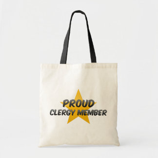 Proud Clergy Member Canvas Bags