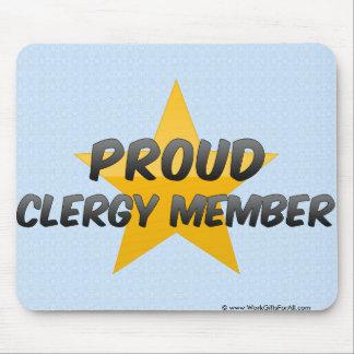 Proud Clergy Member Mousepads