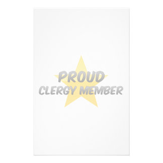 Proud Clergy Member Stationery