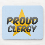 Proud Clergy Mousepads