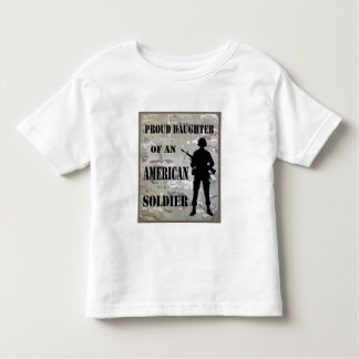 Proud Daughter Of An American Soldier Shirt