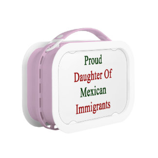 Proud Daughter Of Mexican Immigrants Lunch Box