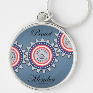 Proud Democrat Machine Member Key Chains