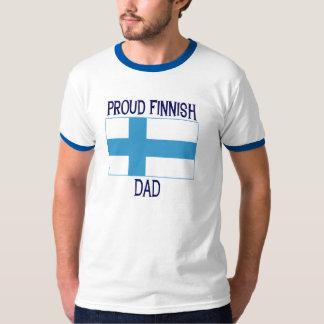 Proud Finnish Dad Tee Shirt