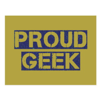 Proud Geek Postcard