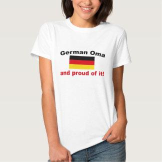 Proud German Oma T-shirt