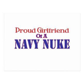 Proud Girlfriend of a Navy Nuke Postcard