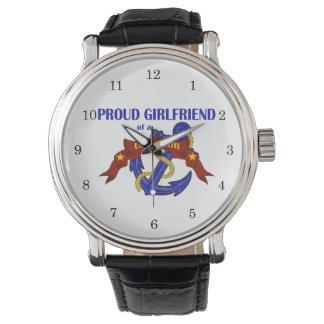 Proud Girlfriend of a US Sailor Watch