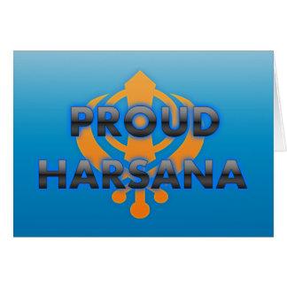 Proud Harsana, Harsana pride Card