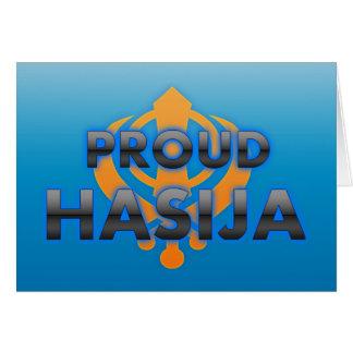 Proud Hasija, Hasija pride Greeting Cards