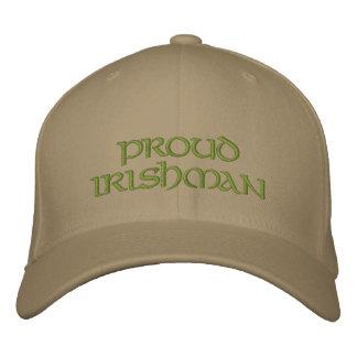 Proud Irishman Hat Embroidered Baseball Caps