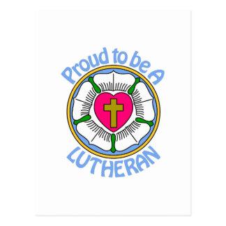 Proud Lutheran Postcard